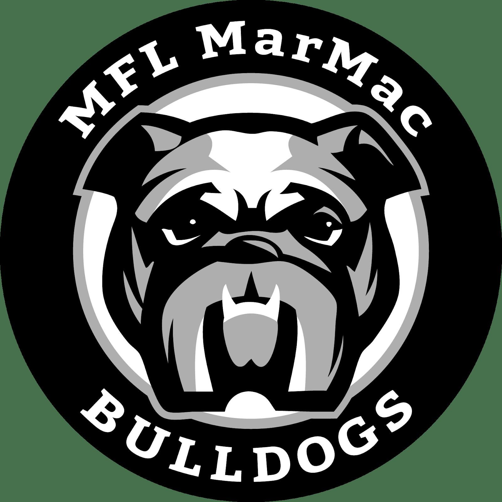 Grayscale MFL MarMac Logo