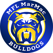 MFL MarMac Bulldogs Logo Badge for the site Footer